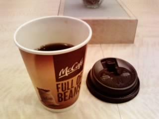 マックのコーヒー☆